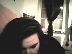 Plan cam sur Skype avec une copine