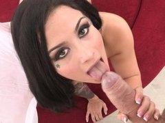 Katrina Jade Rides A Big Cock
