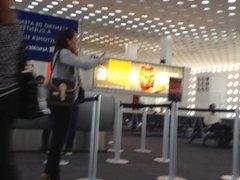 Chicas en el Aeropueto CDMX