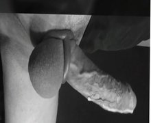 Flacid to erect cockring cumshot in fastcam