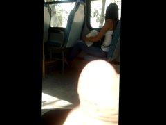 Masturbation in bus 7