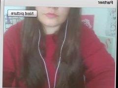 Polish Girl Nipple Clamps on chat