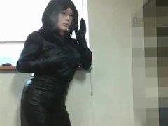 fake lady leather smoke