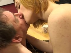 Young Small Tits Hardcore  social worker makes him happy