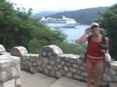Cruise Ship Vacation Blowjob and Facial