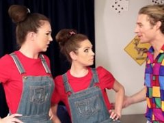 Full Holes - Uncle Joey Has Quality Time with Michelle and her Doppelganger
