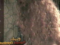 Kinky redhead slut enjoys having fun with a raunchy blonde