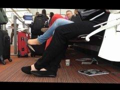 Dangling in CGD Airport