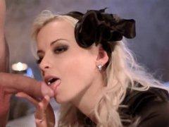 Blonde MILF Blows Best In Black