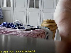 Summer strip for mature curvy wife