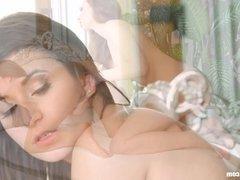 Girls got butt by Sapphic Erotica - lesbian love porn with