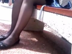 Turkish Street Pantyhose Legs 2