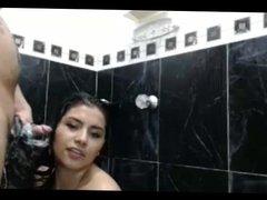 Long Hair , Hair , Hairjob, Shower, Wet Soapy Hairjob