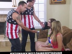 daughterSwap - Hot daughters Fuck not dads After Losing Bet