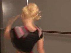 Cheerleader Kagney Linn Karter