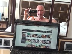 Ulf Larsen, bisexual amateur porn model