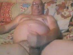 Barry Cums on Webcam