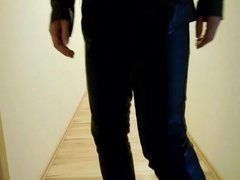 Walking hard in my boots