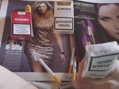 Cigarettes and fasion magazines