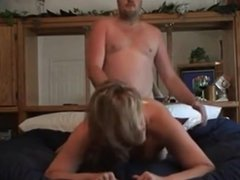 Milf fucked hard and creampied