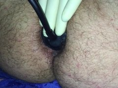 Asshole Training 6cm Plug and PumpPlug Prolapse