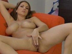 Big Breasts Girl Masturbate Bush Hood Clitoris Triangle on chatscams-com