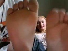 sisters feet soles