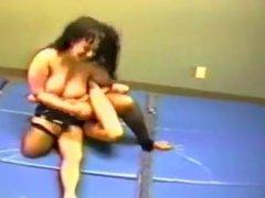 FTV Blake vs Tara Titanium topless wrestling