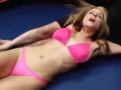 Paris Kennedy mixed wrestling pt3