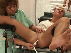Enema and prostate massage