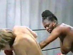 Danni Ashe vs Ebony Ayes Boxing