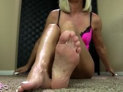 your dick loves my feet