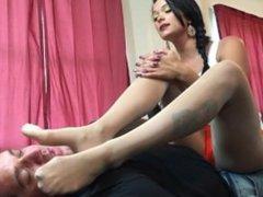 nylon feet smother smelling pantyhose worship sisters bakeka sniff