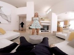 VR BANGERS-Nina Elle the home owner – VR masturbation Naughty Milf nina