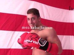 Boxing Athlete Carl Masturbating After Gym Erotic Men of Judas