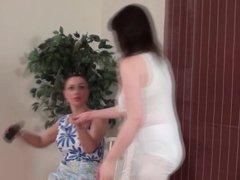 Over Step-Moms Knee