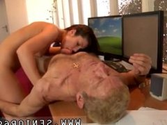 Asian fucks old and chinese old man first time Anna has a cleaning job at