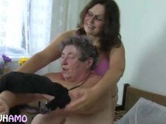 Fat Mature Has Sex With A Young Brunette