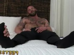 Free movies of gay men feet Derek Parker's Socks and Feet Worshiped