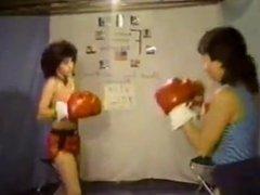 FFF JoJo vs Laura complete boxing match