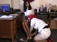 Hannah Perez bound and gagged by JJ Plush
