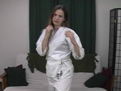 Karate Kawa kicks at you