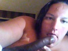 Sucking black dick