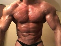 Muscle worship super ripped young muscle