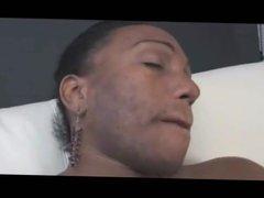 Black Shemale With Big Solo Masturbation