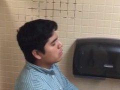 Bathroom Stall Blowjob