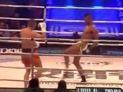 Kickboxer Andy Ristie Finishes Robin van Roosmalen by KO ( No Sex)