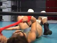Japanese female wrestling hold 3