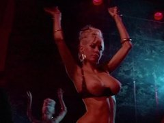 BIG TIT BELLY DANCE - vintage 60s amazing blonde teases