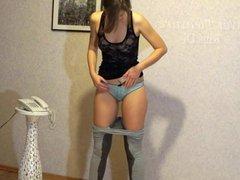 Pee Desperation In Yoga Pants